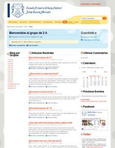 Pagina del Blog