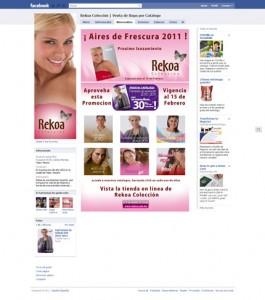 Rekoa Colección Facebook Fan Page - Fans
