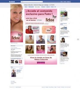 Rekoa Colección Facebook Fan Page – No Fans