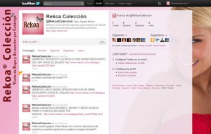 Twitter de Rekoa Colección