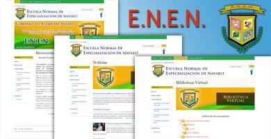Esc. Norm. de Esp. de Nay. | E.N.E.N.