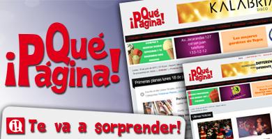 ¡Qué Página! | Portal Web de Noticias